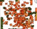 Jigsaw Orange Lillies